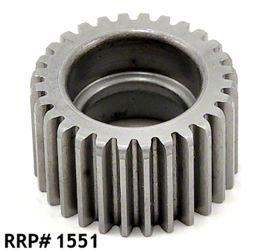 AXIAL WRAITH HARDENED STEEL IDLER GEAR