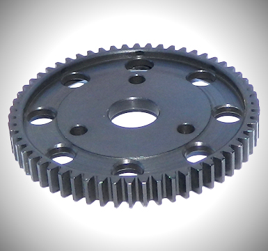 AXIAL WRAITH / AX10 BLACKENED STEEL SPUR GEAR 58T 32P