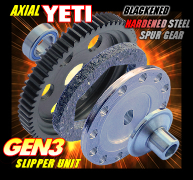 AXIAL YETI 32 PITCH SLIPPER UNIT