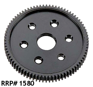 AXIAL WRAITH 'SuperTuff' PLASTIC SPUR GEAR 80 TOOTH 48 PITCH