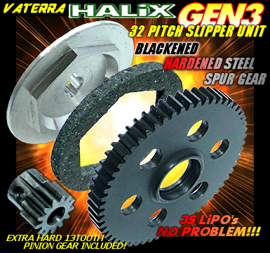VATERRA HALiX 32 PITCH SLIPPER UNIT