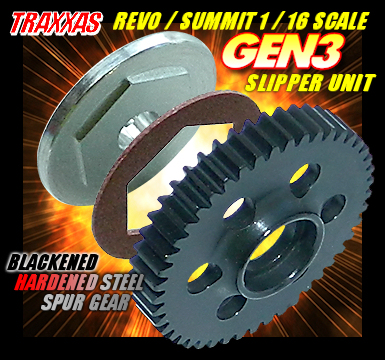 TRAXXAS REVO/SUMMIT 1/16 SCALE GEN3 SLIPPER UNIT